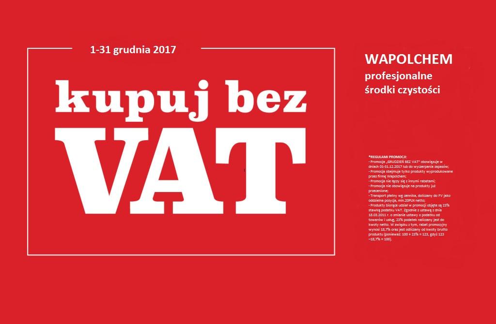Grudzień bez VAT